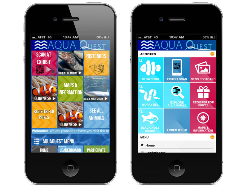 Aqua Quest Design and UX Review
